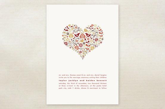 Cute Wedding Invitations #802626 - Weddbook