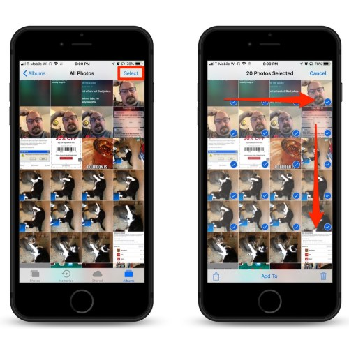 Medium Crop Of How To Select All Photos On Iphone