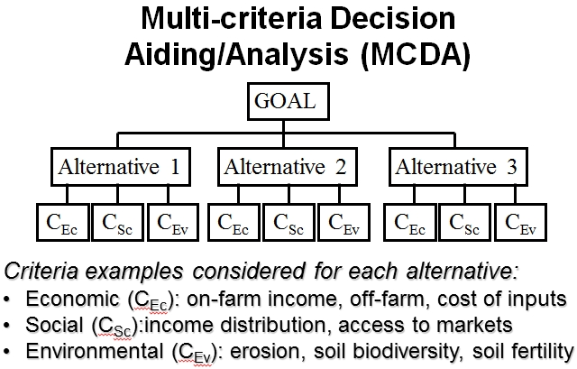 Multicriteria Decision Analysis / Aiding (MCDA) - Tools for - what is an analysis
