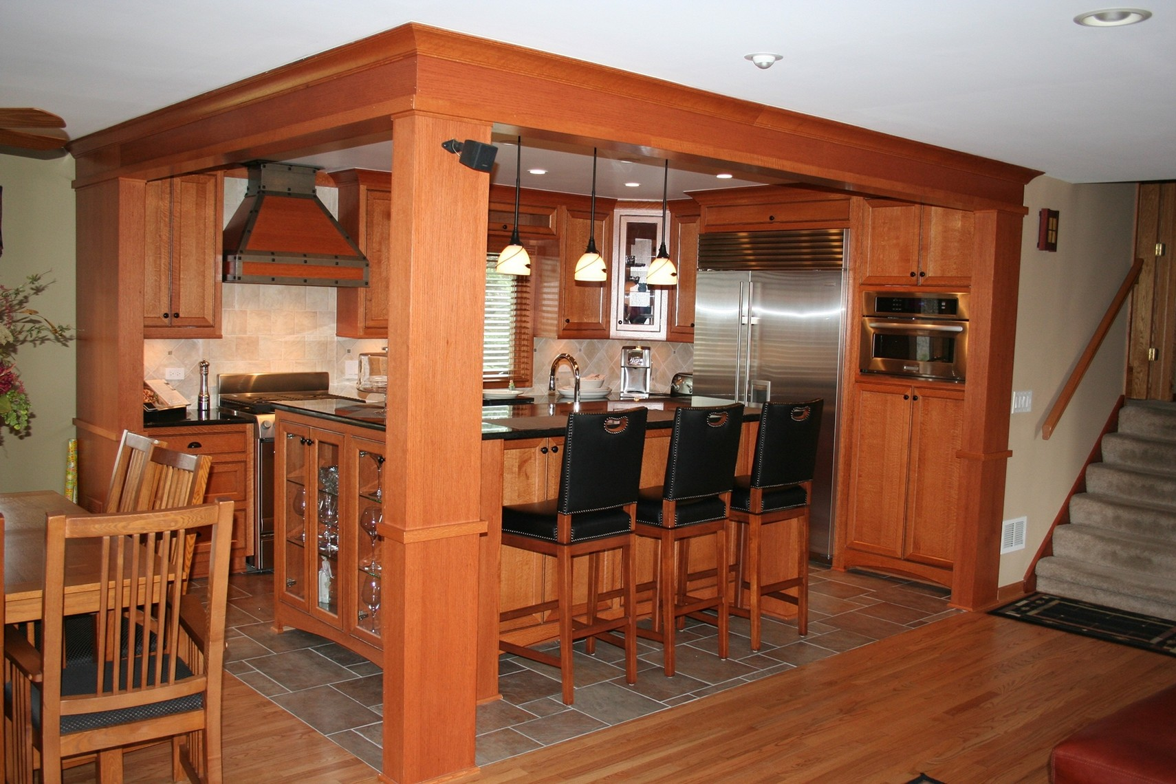 Kitchen Cabinets Red Oak Floors Finished Applications S4s Hardwoods