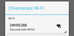 Need help changing your Wi-Fi connection on Chromecast?