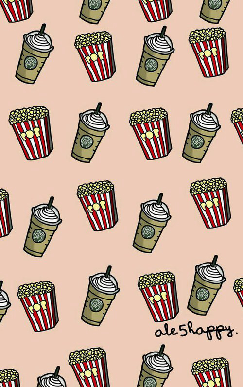 Cute Wallpapers For Laptop With Quotes For 11 Year Olds Popcorn Starbucks Wallpaper Image 2200765 By Patrisha