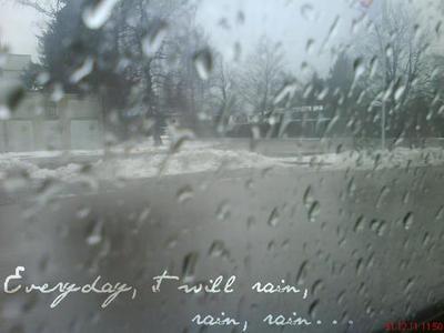 Raindrops Falling On Flowers Wallpaper Quote Rain Bruno Mars Raindrops Image 548142 On
