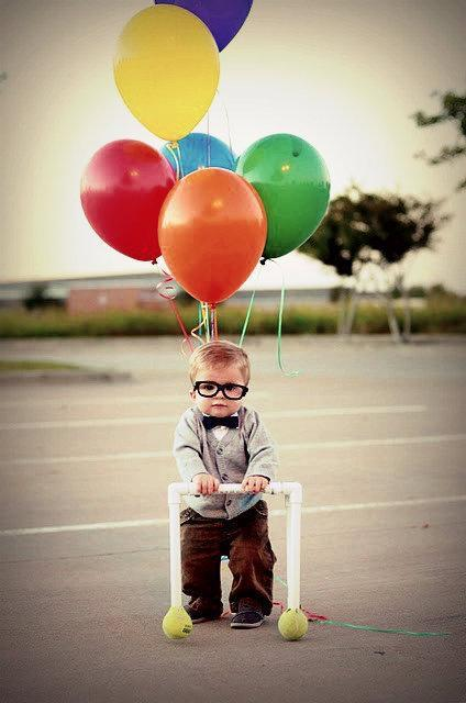 Girl And Boy Wallpaper With Quotes Anw Baby Balloons Boy Image 528915 On Favim Com