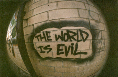 Wallpaper Sad Girl Cry Graffiti Is Evil Text The World Image 523347 On