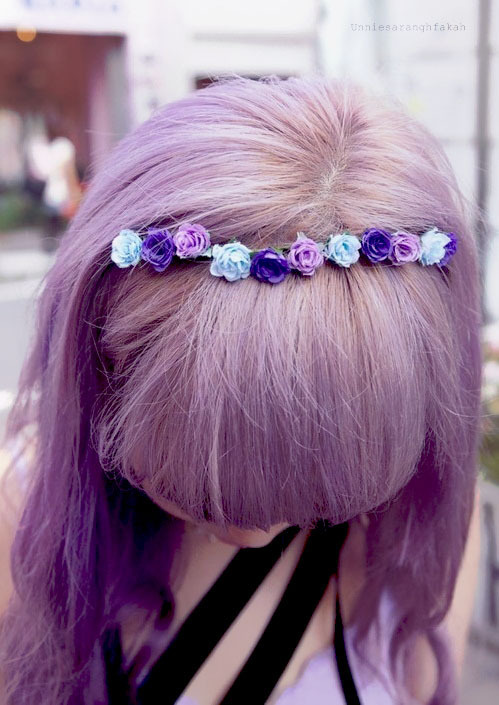 Indie Wallpaper Iphone 6 Cute Dyed Hair Fashion Flowers Image 623346 On Favim Com