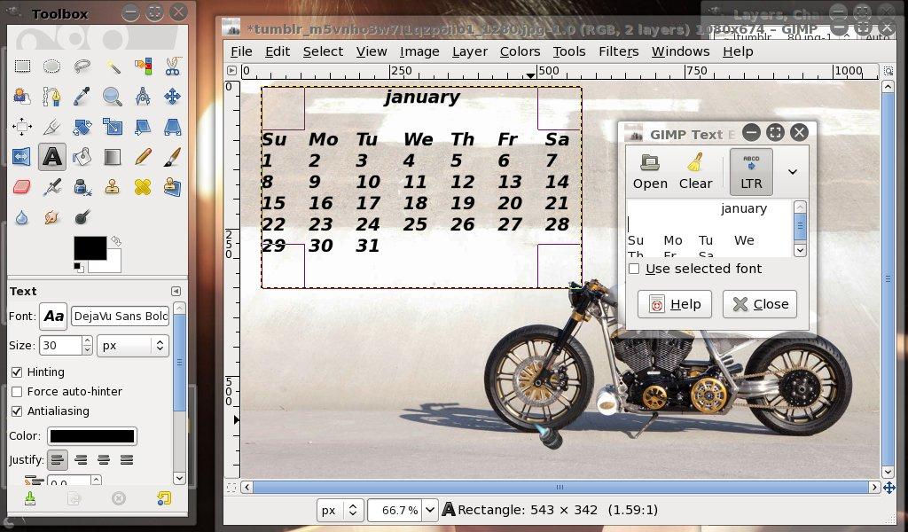 Software to create photos calendar - create a picture calender