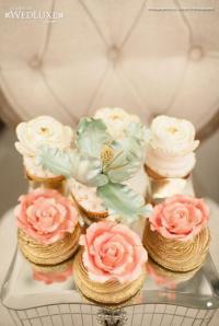 Wedding Nail Designs - Gilded Bridal Shower Cupcakes ...