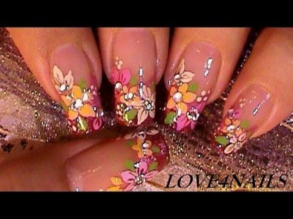 Comfortable Awesome Youtube Nail Art Tutorial Short Nails Sketch