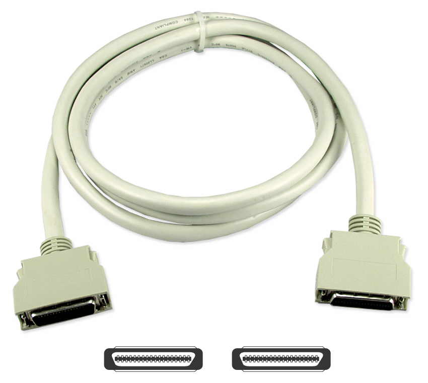 CC410D-06 - 6ft Premium Parallel IEEE1284 MiniCen36 Male to Male Bi
