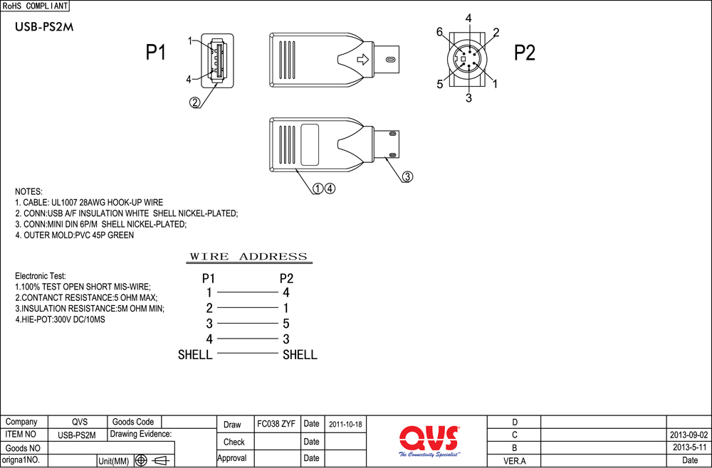 Wiring Diagram Serial Mouse Wiring Diagram