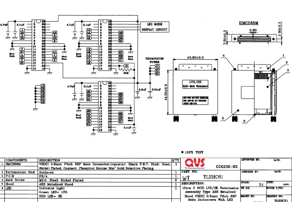 Scsi To Rj45 Wiring Diagram Wiring Diagram