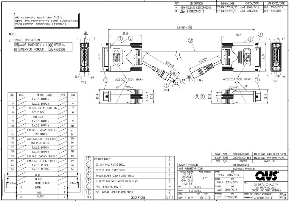 Wiring Diagram Vga To Dvi Cable \u2013 powerking