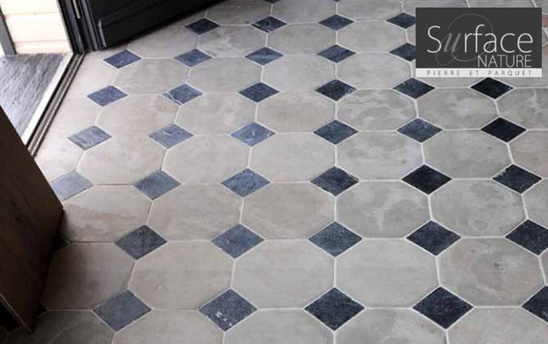 Parquet Imitation Carreau De Ciment Cabochon - Carrelages Sol | Decofinder
