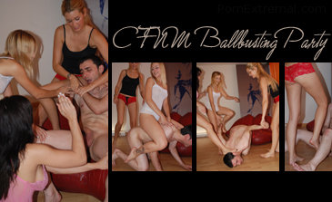 cfnm ballbusting captions