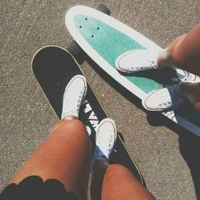 Penny Skateboards Girl Wallpaper Via Tumblr Image 1761848 By Saaabrina On Favim Com