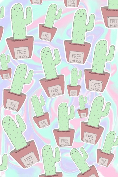Adidas Quotes Wallpaper Background Cactus Plant Spikes Wallpaper Pastel