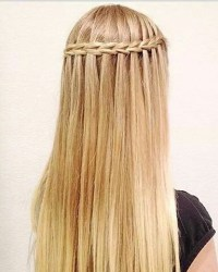 Waterfall braid - image #3041646 by loren@ on Favim.com