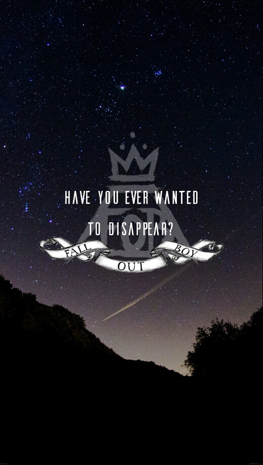 Mania Wallpaper Fall Out Boy Fall Out Boy Fob Love Lyrics Music Image 3651646 By