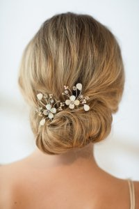 Wedding Hairpins, Bridal Hairpins, Mother Of Pearl Wedding