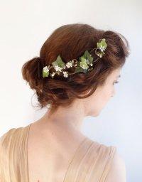 Green Wedding - Ivy Hair Clip - Bridal Hair Vine #2225576 ...