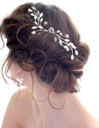 Bun Hair Model - Gorgeous Messy Side Bun Wedding Hair ...