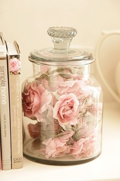 Rustic Mason Jar Fall Iphone Wallpaper 13 Jar Of Roses Girly Room Books Pink Image 2689334 By