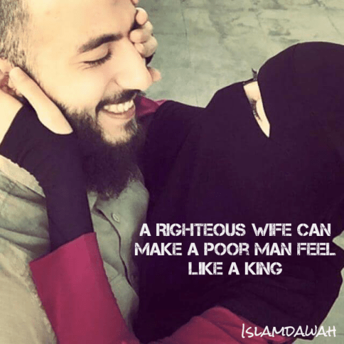 Husband Wife Islamic Quotes Wallpaper Muslim Couple Beard And Niqab Image 3562357 By Its