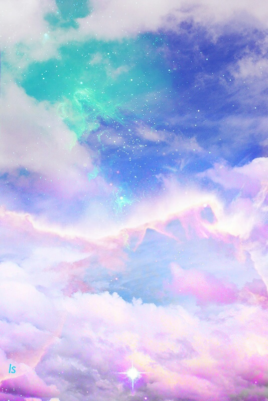 Anime Boy And Girl Couple Wallpaper Colors Galaxia Galaxy Tumblr First Set On Favim Com