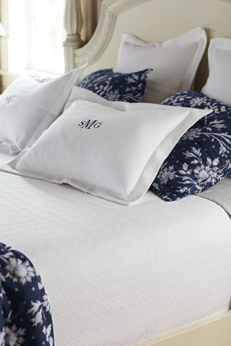 Bed Coverlet Matelassé Coverlet And Sham