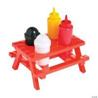 Picnic Table Condiment Set, Serveware, Party Tableware ...