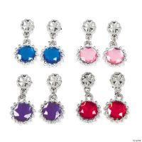 Kids Jewel Clip-On Earrings - Oriental Trading