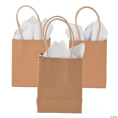 Paper Gift Bags Small Craft Gift Bags
