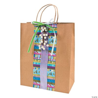 Paper Gift Bags Large Brown Kraft Paper Gift Bags Oriental Trading