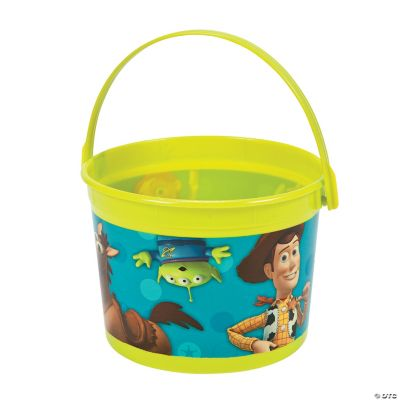 Toy Story 3 Bucket Oriental Trading Discontinued