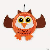 Paper Plate Owl Craft Kit - Discontinued