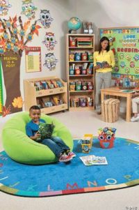 Classroom Library Supplies & Reading Corner Themes