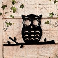 Owl Silhouette Wall Decoration - Oriental Trading ...