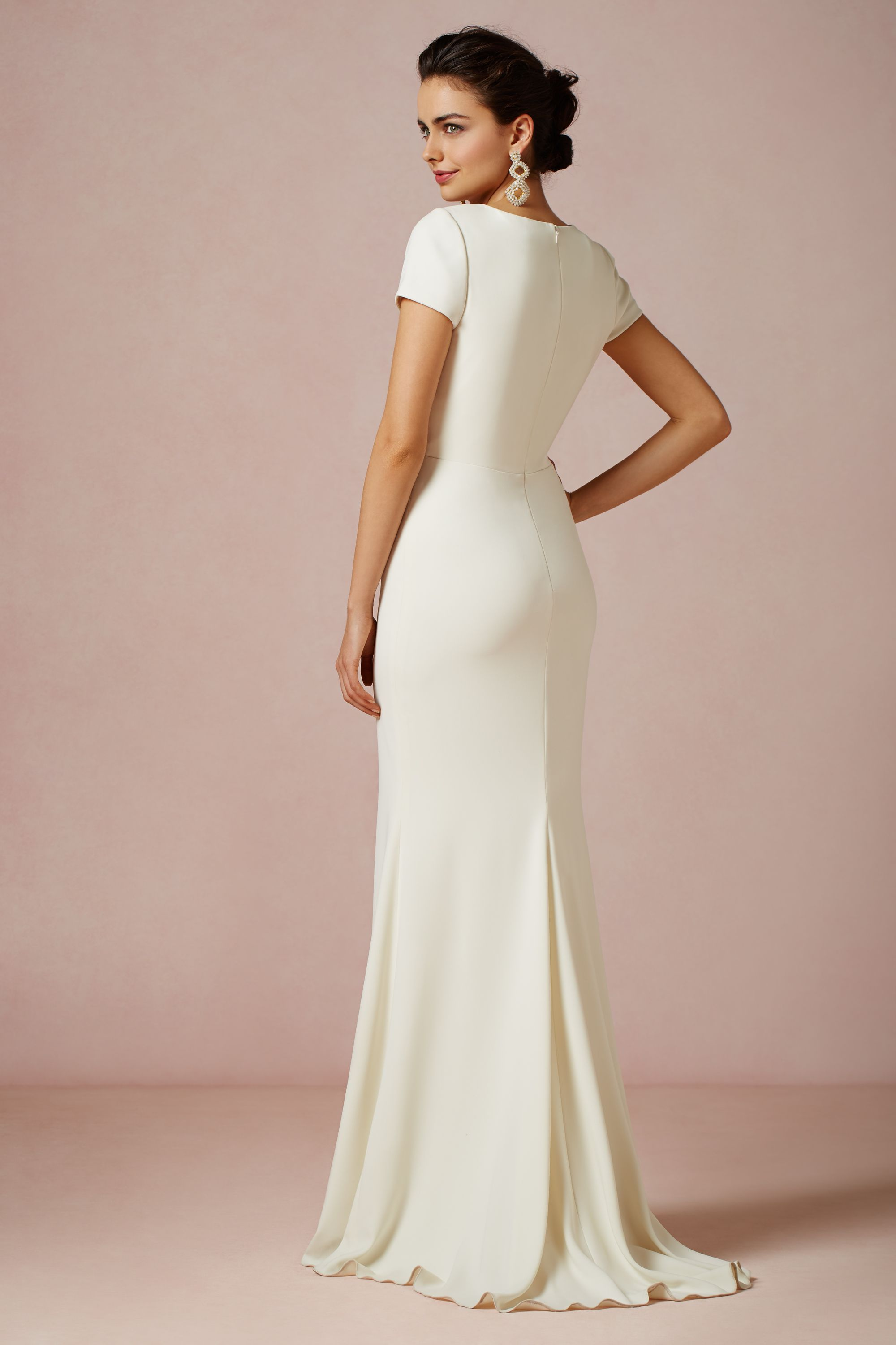 isis gown macy's wedding dresses Badgley Mischka ivory Isis Gown BHLDN