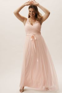 Fleur Dress Blush in Bridesmaids & Bridal Party | BHLDN