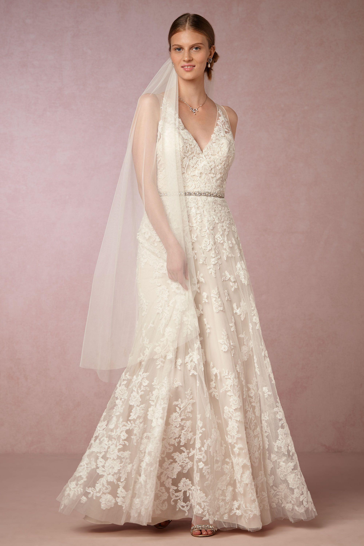 blaire gown wedding dress sale Ivory cream Blaire Gown BHLDN