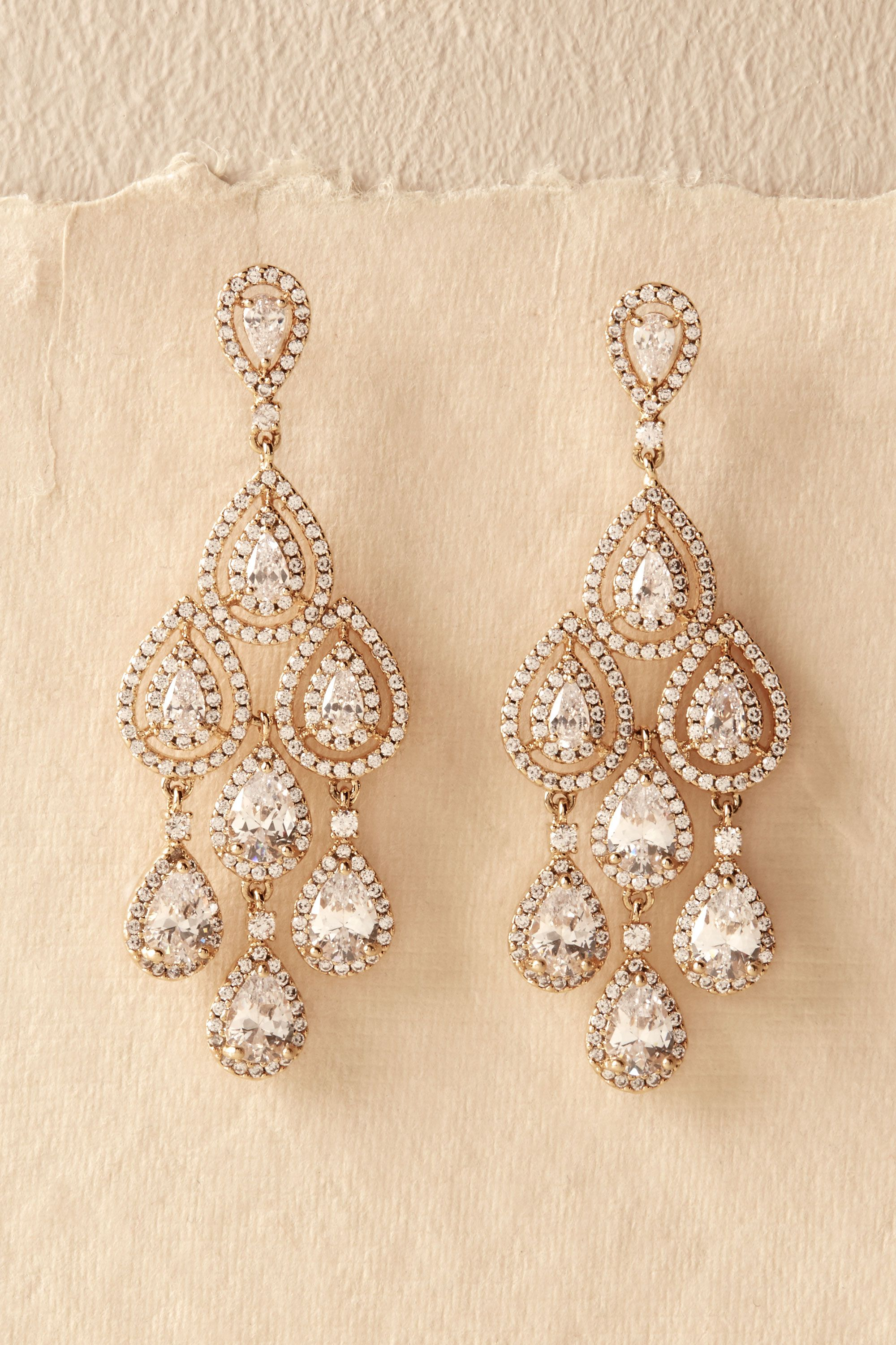 shop the bride bridal jewelry wedding jewelry Aniston Chandeliers