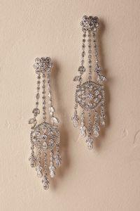 Chandelier Silver Earrings 925 Sterling Silver Bohemian ...