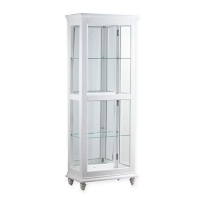 Buy Powell Whitehurst Large Curio Cabinet in White from