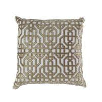Callisto Home Trellis Accent Pillow in Cream - Bed Bath ...