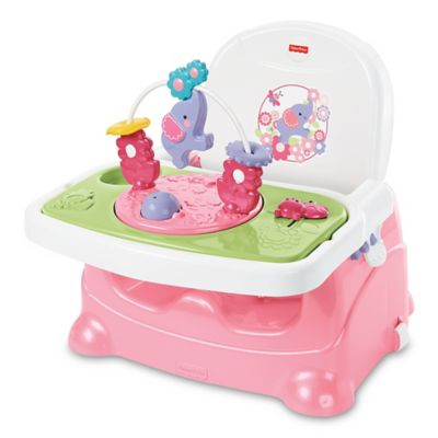 Fisher Price Pretty In Pink Elephant Booster Seat