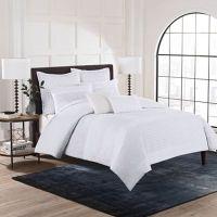 Buy Hailey Full/Queen Duvet Cover Set in White from Bed