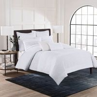 Buy Hailey Full/Queen Duvet Cover Set in White from Bed ...