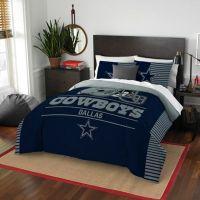 Buy NFL Dallas Cowboys Draft Full/Queen Comforter Set from ...