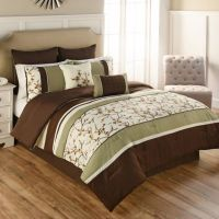 Buy Palma 7-Piece Twin Comforter Set in Green/Brown from ...